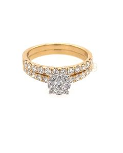 18K Briljant Ringen