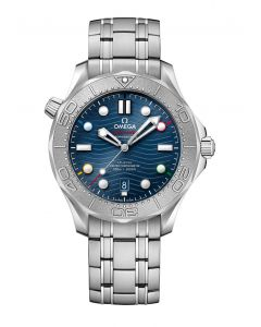 """Seamaster Diver 300M Co‑Axial Master Chronometer 42 mm """"Bejing 2022"""""""