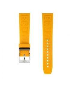 22mm geel rubber Diver Pro met gesp ( inclusief sluiting)