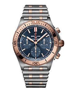 Chronomat B01 42 steel & 18k red gold -blue