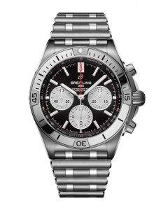 Chronomat B01 42 steel - black