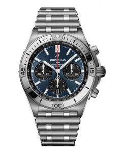 Chronomat B01 42 steel - blue
