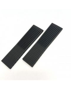 Breitling 24mm Navitimer rubber voor vouwsluiting