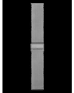 stalen fijne milanese band 18 mm
